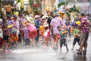 PSA HM Ribbons - Tossaporn Sahakul (Thailand)Songkran Festival