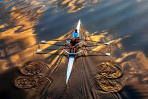PhotoVivo Silver Medal - Hung Kam Yuen (Australia)Rowing Across The Sky 2