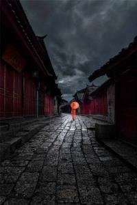 PhotoVivo Bronze Medal - Qiangcheng Hong (China)Lonely Lane