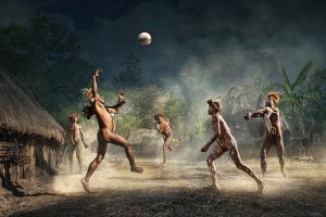 PhotoVivo Bronze Medal - Arnaldo Paulo Che (Hong Kong)  Papuan Volleyball