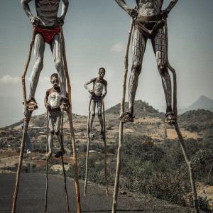 PhotoVivo Gold Medal - Beimeng Liu (China)  Walking On Stilts