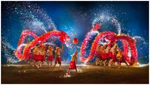 KBIPC Gold Medal - Pingtai Fan (China)  Dragon Dance
