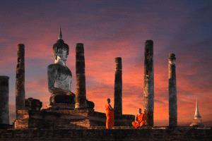 IUP Honor Mention - Chunxin Ye (China)  Monks