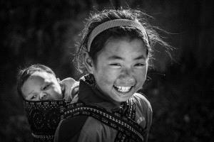 PhotoVivo Honor Mention - Chunxin Ye (China)  Smiling Face