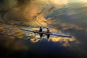 PhotoVivo Honor Mention - Hung Kam Yuen (Australia)  Golden Rowing Pairs