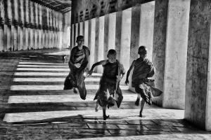 PhotoVivo Silver Medal - Pat Choo (Singapore)  Happy Young Monks