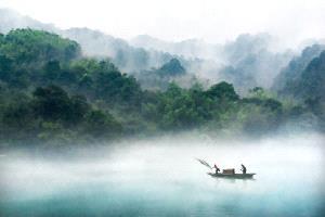PhotoVivo Honor Mention - Shuguang Chen (China)  Dong River Painting