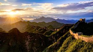 IUP Honor Mention - Ling Hou (China)  Sunrise Of Jinshanling Great Wall