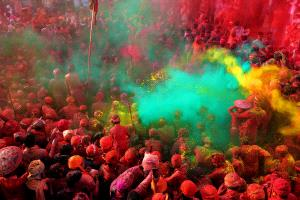 PhotoVivo Honor Mention - Hui Wang (China)  Holi Festival 2
