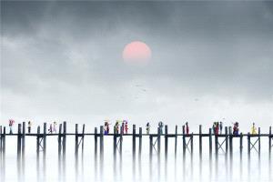 KBIPC Merit Award - Ruiyuan Chen (China)  Morning In Uben Bridge1