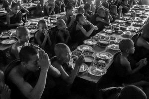 PhotoVivo Honor Mention - Shimin Wang (China)  Prayer Before Dinner