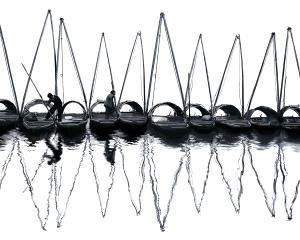 KBIPC Merit Award e-certificate - Yunsheng He (China)  4-Inverted Images Of Masts