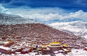 PhotoVivo Gold Medal - Xilian Li (China)  Village In The Snow