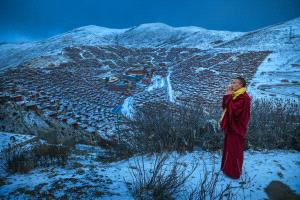 PhotoVivo Gold Medal - Liansan Yu (China)  Monk In Red 4