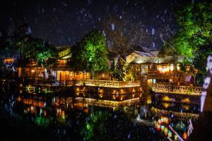PhotoVivo Gold Medal - Yu Wang (China)  Town At Night