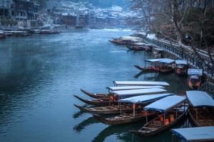 PhotoVivo Gold Medal - Jinyan Yang (China)  Waiting Boats