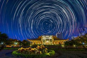 PhotoVivo Honor Mention e-certificate - Hsiuling Chiu (Taiwan)  City Startrail