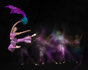 APAS Honor Mention e-certificate - Hsiuling Chiu (Taiwan)  Dance Shadow Dream
