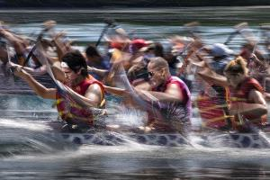 PhotoVivo Gold Medal - Kam Chiu Tam (Canada)  Battling The Wave