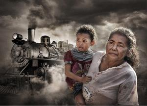 PhotoVivo Honor Mention e-certificate - Arnaldo Che (Hong Kong)  The Widow And The Orphan 2