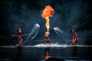 APU Honor Mention e-certificate - Kristanto Lie (Indonesia)  Fire And Splash