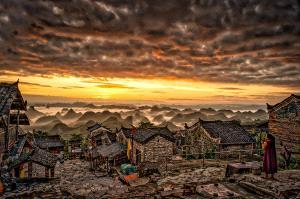 KBIPC Merit Award e-certificate - Yuk Chiu Stanley Kwok (Hong Kong)  A Lot Of Mountain Peaks In Mist