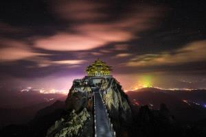 APU Honor Mention e-certificate - Xiping An (China)  Night Of Laojun Mountain