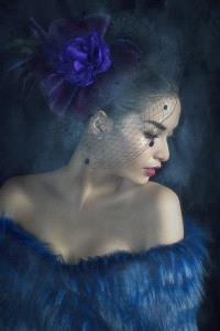 PhotoVivo Honor Mention e-certificate - Hein Htet (Singapore)  Lady In Blue 02
