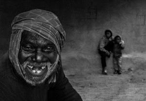 PhotoVivo Honor Mention e-certificate - Shuvashis Saha (India)  Gladsome Grandpa