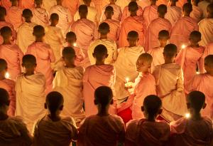 KBIPC Merit Award e-certificate - Thi Ha Maung (Myanmar)  Nuns And Golden Light