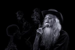 KBIPC Merit Award e-certificate - Khaing Sandar Tin (Singapore)  Smoking Old Man 2