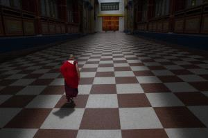 KBIPC Merit Award e-certificate - Dibyendu Dutta (India)  MONK WALKING IN SYMMETRY